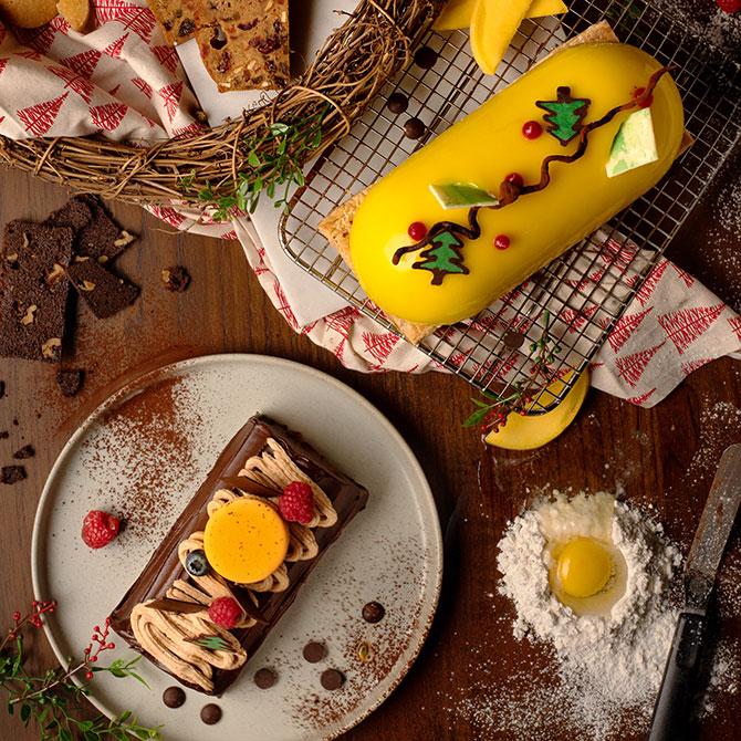 House of MU Christmas Desserts