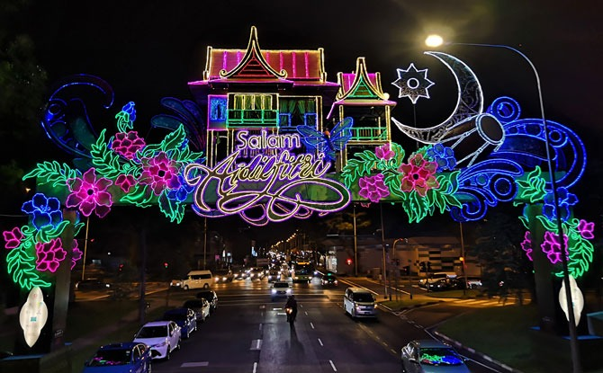 Geylang Serai Hari Raya Light Up 2019 Little Day Out