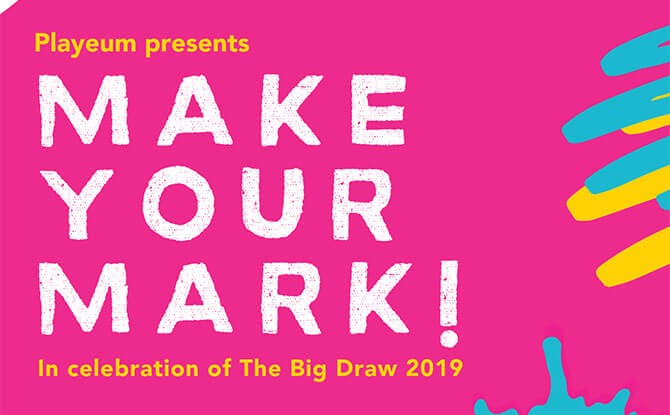 Make Your Mark! by Playeum - Things to do for Children's Day 2019 in Singapore