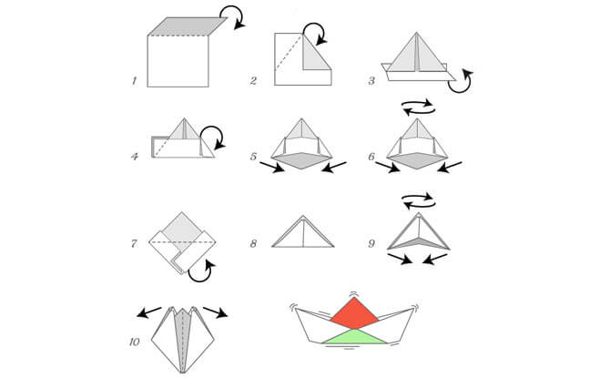 Make Your Own Paper Boat