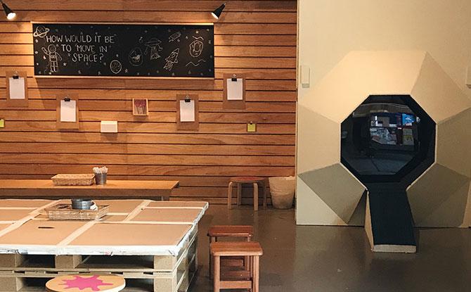 Maker Space at Playeum
