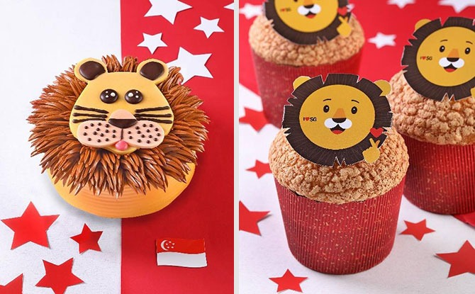 PrimaDeli Is Selling A Cute Lion-Shaped Cake For National Day 2020