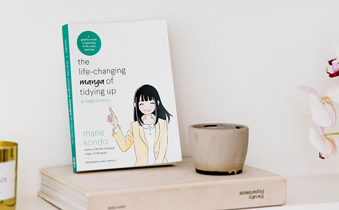 Quotes from The Life-Changing Manga of Tidying Up