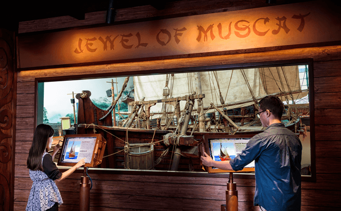 Learning to Navigate Gallery at Maritime Experiential Museum