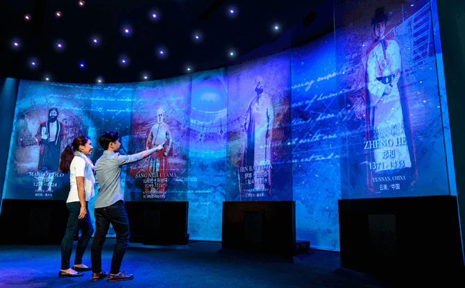 Meet the Explorers, Maritime Experiential Museum, Resorts World Sentosa