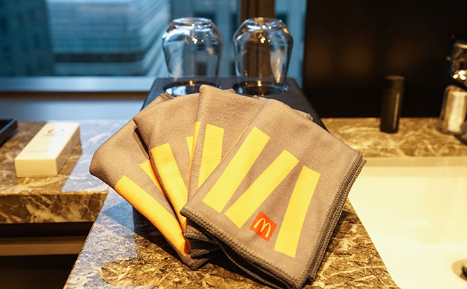 McDonald's Hand Towels