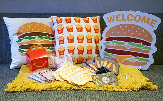 McDelivery x Klook Happiest Night-In Staycation Packages