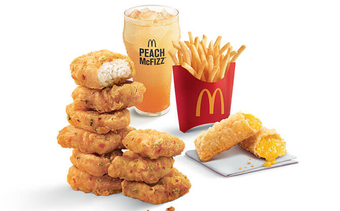 Spicy Chicken McNuggets Feast