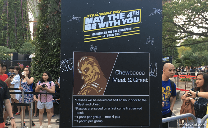 Meet and Greet, Star Wars Day