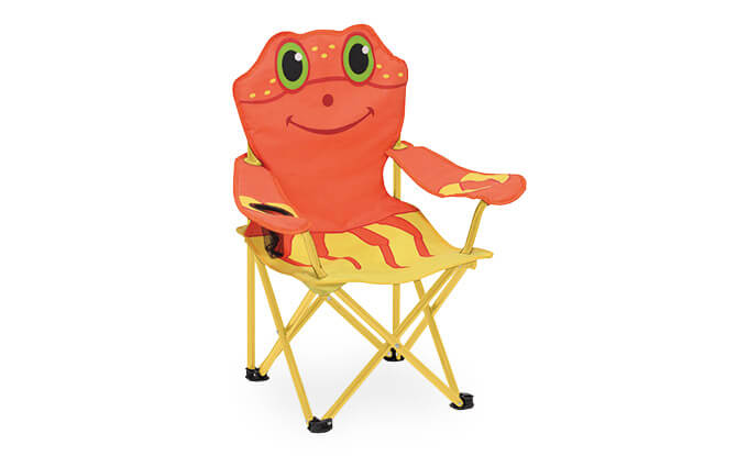Melissa & Doug Clicker Crab Child's Outdoor Chair