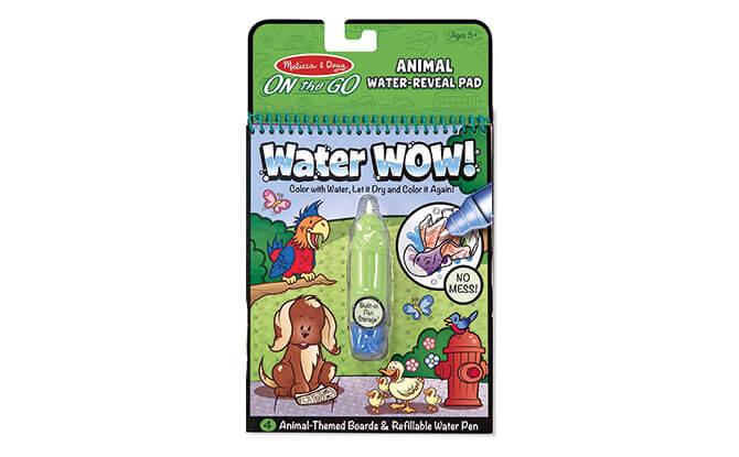 Melissa & Doug, Water Wow! Animal Water-reveal Pad