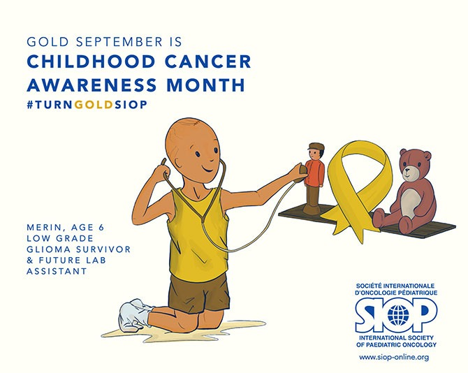 Childhood Cancer Awareness Month - Gold September