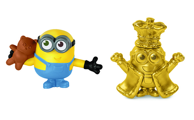 Minion Happy Meal Toy Collectibles