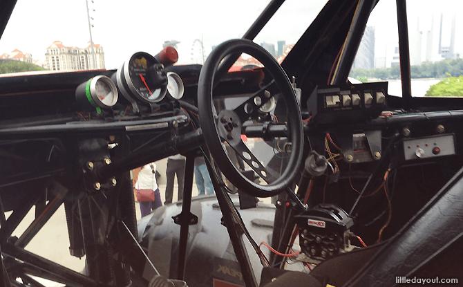 Inside a Monster Truck's Cab