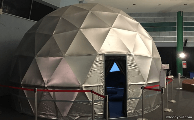 Dome Movie Tent