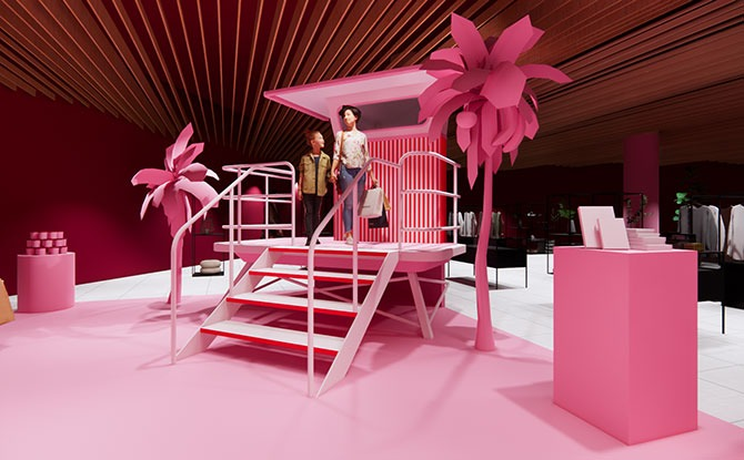 Pink Vibes at the Museum of Ice Cream Showcase at Design Orchard