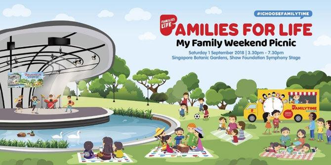 My Family Weekend Picnic @ Singapore Botanic Gardens