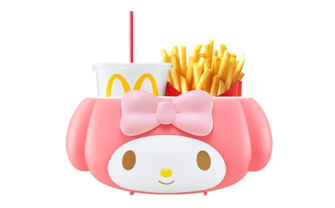 My Melody Holder At McDonald's, Signature Delights And Chocolate Treats