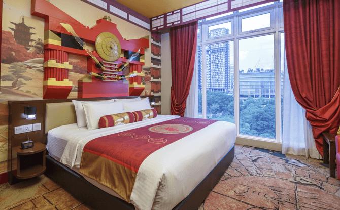 NINJAGO Themed Rooms