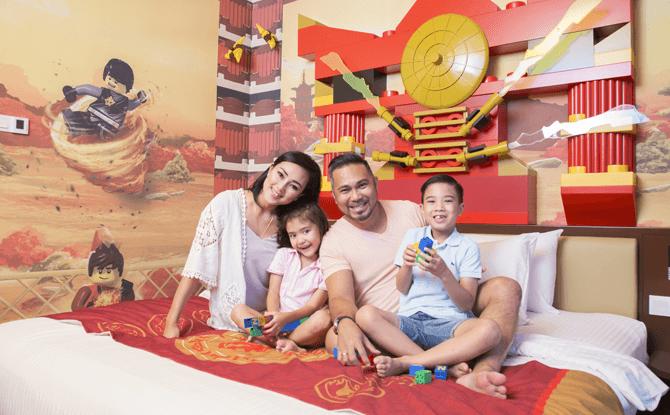 LEGOLAND Malaysia Resort's Ninja-themed Rooms