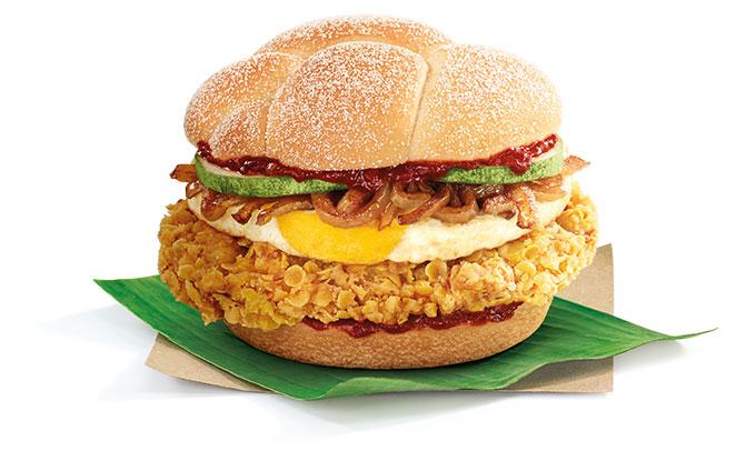 McDonald's Nasi Lemak Burger Is Back