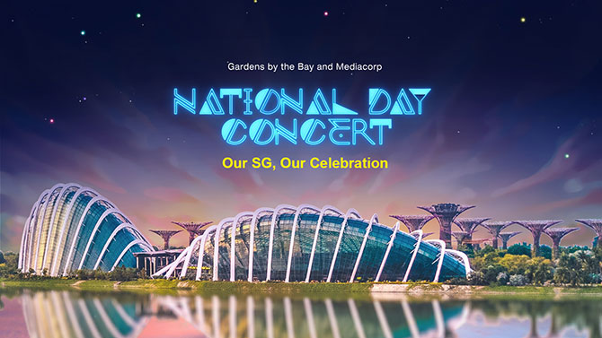 National Day Concert at Gardens by the Bay