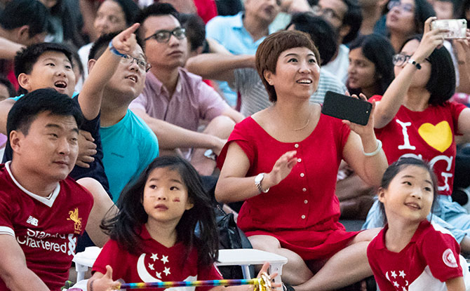 Head over the Front Lawn at National Museum of Singapore to view a live telecast of the National Day Parade 2019.