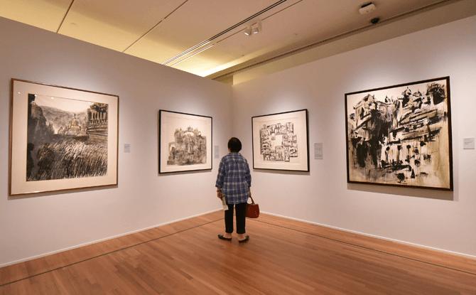 National Gallery Singapore - Chua Ek Kay Exhibition
