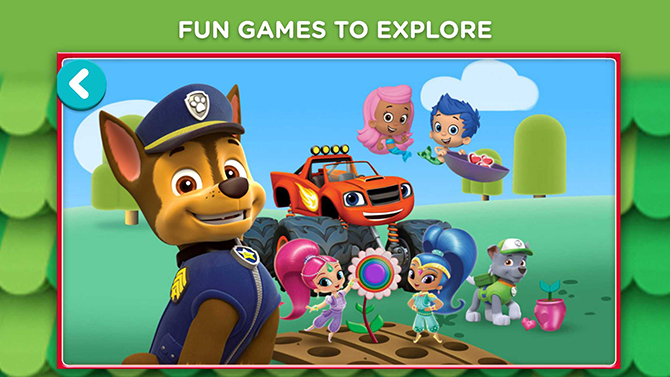 Nick Jr Play App in Singapore