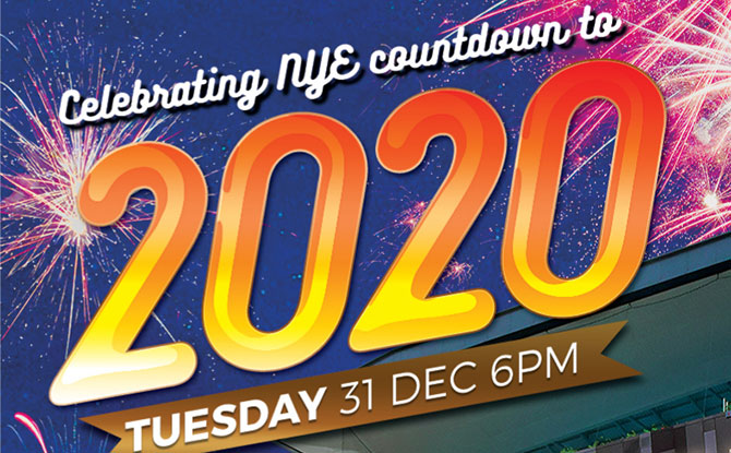 Our Tampines Hub New Year's Eve Countdown to 2020 - Things to do on New Year's Eve in Singapore 31 Dec 2019