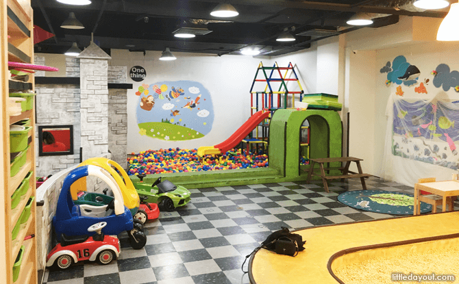 Indoor Playground at One Thing Kids Cafe, Bukit Timah Shopping Centre