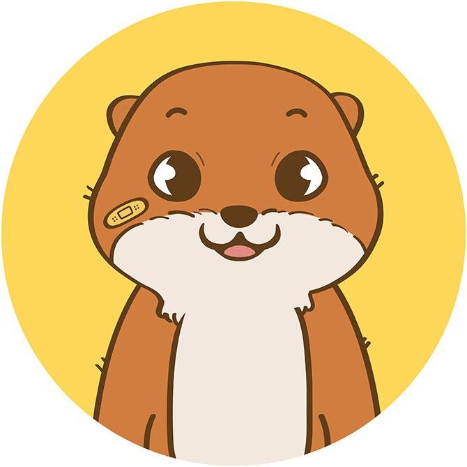 Meet Otah the Otter