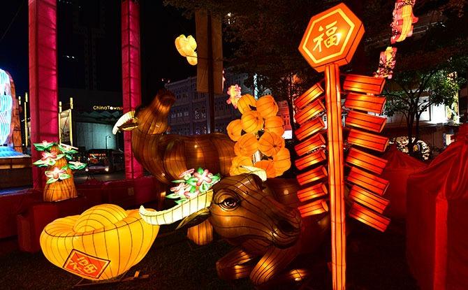 360 Virtual Tour of Chinatown's Street Light-Up