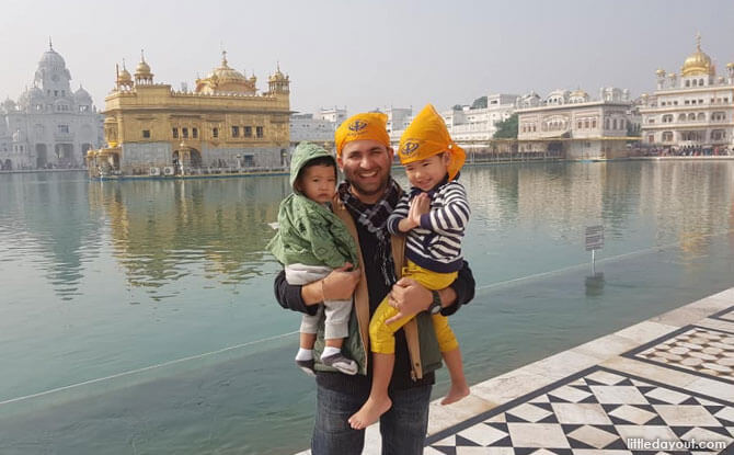 Experience Tranquillity at The Golden Temple