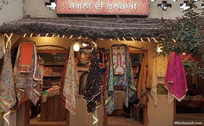 Shopping at Amristar, India