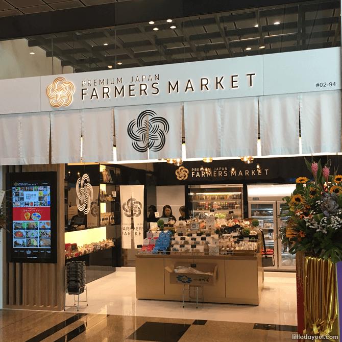 Premium Japan Farmers Market, Changi Airport T3