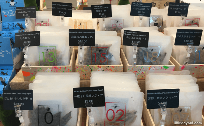 Dried Japanese Snacks