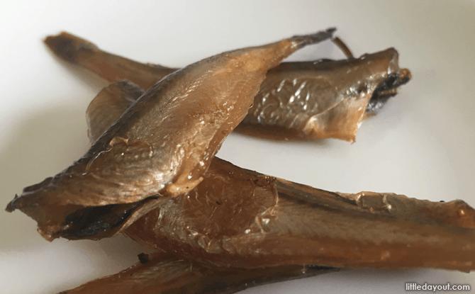 Smoked Japanese Sandfish