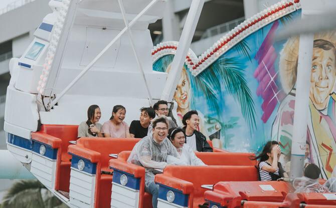 Prudential Marina Bay Carnival Das Fun Schiff