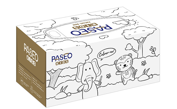PASEO Kids Facial Box - Available in Two Designs