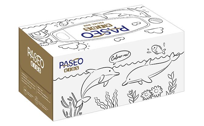 PASEO Kids Facial Tissue