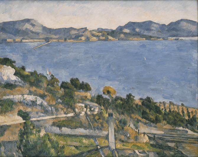 Le golfe de Marseille vu de lEstaque, Paul Cezanne