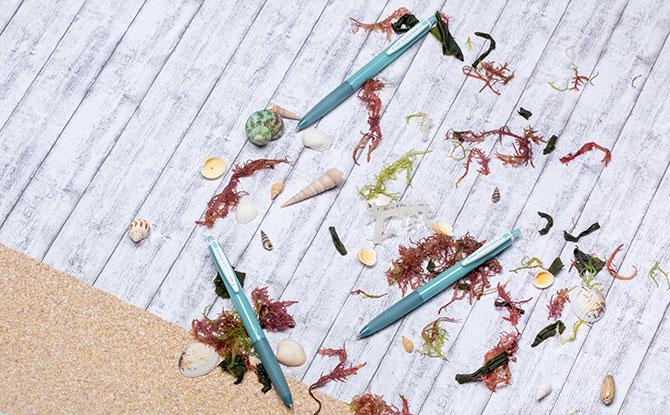 Pen Made From Plastic Waste From The Ocean: Pilot Super Grip G Ocean Pen