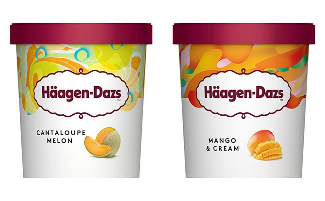 Häagen-Dazs' New Summer Flavours - Don't Hold Back