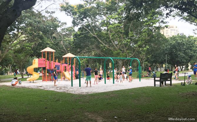 Children's Playground, Bedok Reservoir Park