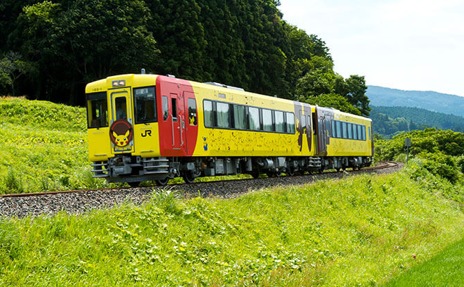 """POKÉMON with YOU"" train in Japan, JR East"