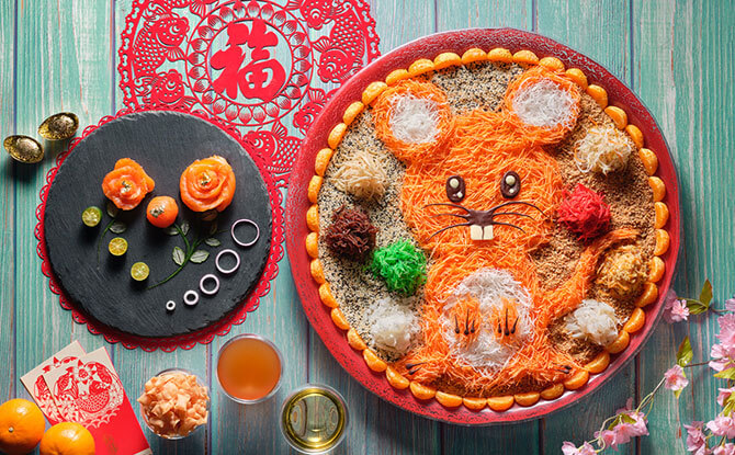 4 Cute Year Of The Rat Yu Sheng Designs For Lunar New Year 2020