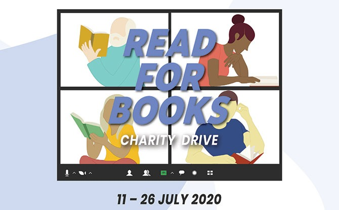 How to be Part of Read for Books 2020