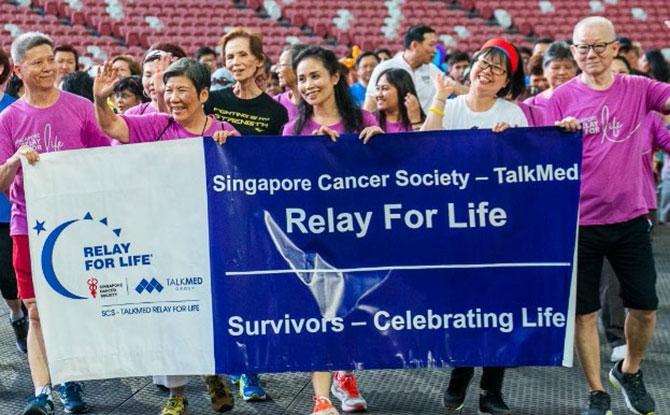 Singapore Cancer Society – TalkMed Relay For Life 2021