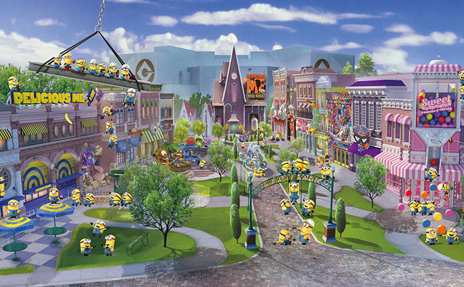 Minion Park And Super Nintendo World Are Coming To Universal Studio Singapore